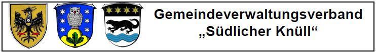 """Gemeindeverwaltungsverband (GVV) """"Südlicher Knüll"""""""