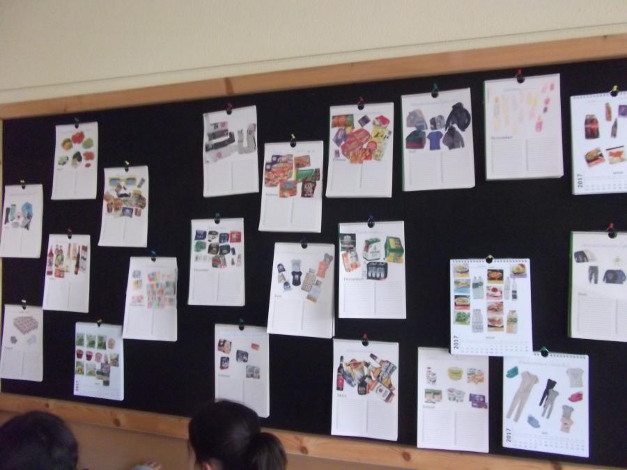 Kalender mit praktischen Umwelttipps.