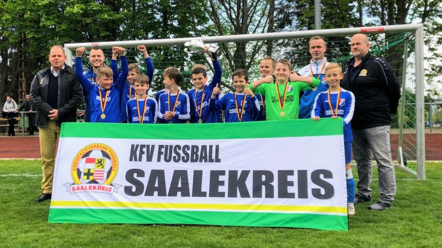 VfB IMO Merseburg // Kreispokalsieger E-Junioren 2018/2019