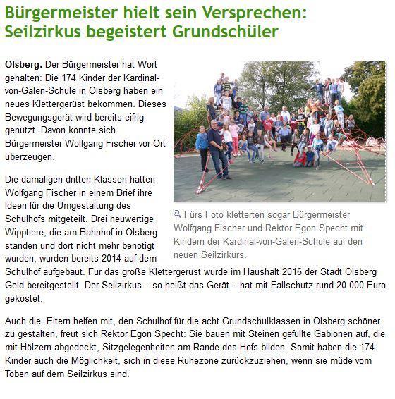 Seilzirkus Bürgermeister Fischer