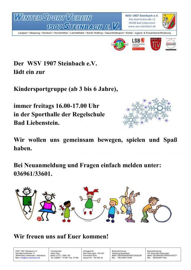 Flyer WSV Kids