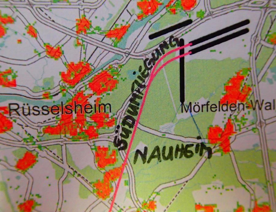 Die Südumfliegung - ein Problem für Nauheim