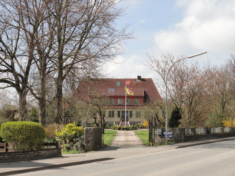 Die alte Oberförsterei in Groß Brebel, heute ein Kinderheim - 2