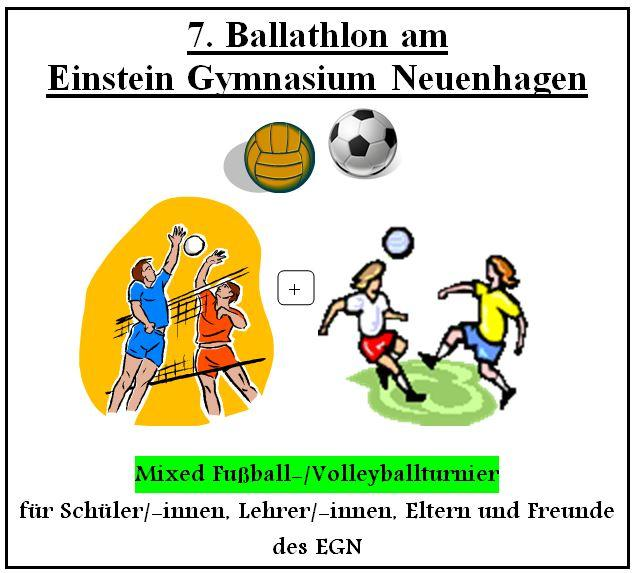 7. Ballathlon