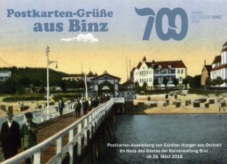 Postkarten-Grüße aus Binz
