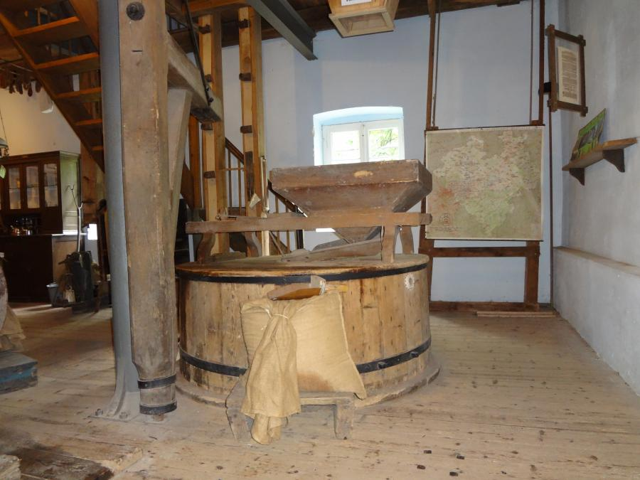 Blick ins Mühlenmuseum