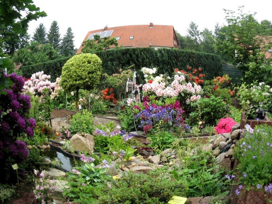 Hausgarten von Christiane und Horst Bergmann