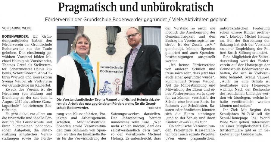 Pressebericht
