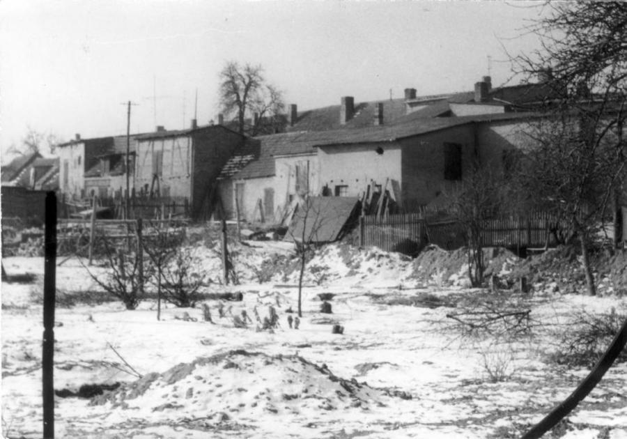 """1826 sollte in den """"Wallgärten"""" ein neuer Friedhof eingerichtet werden"""