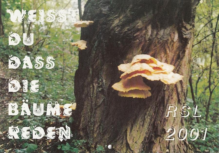 Titel Schulkalender 2001
