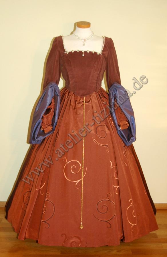 Tudor Kleid