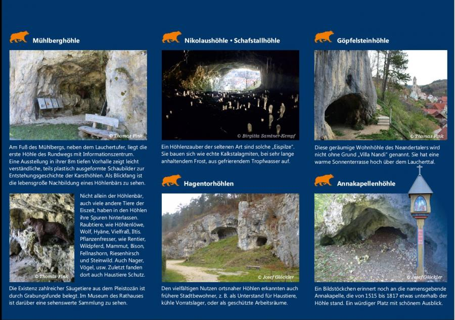 Höhlenrundweg innen