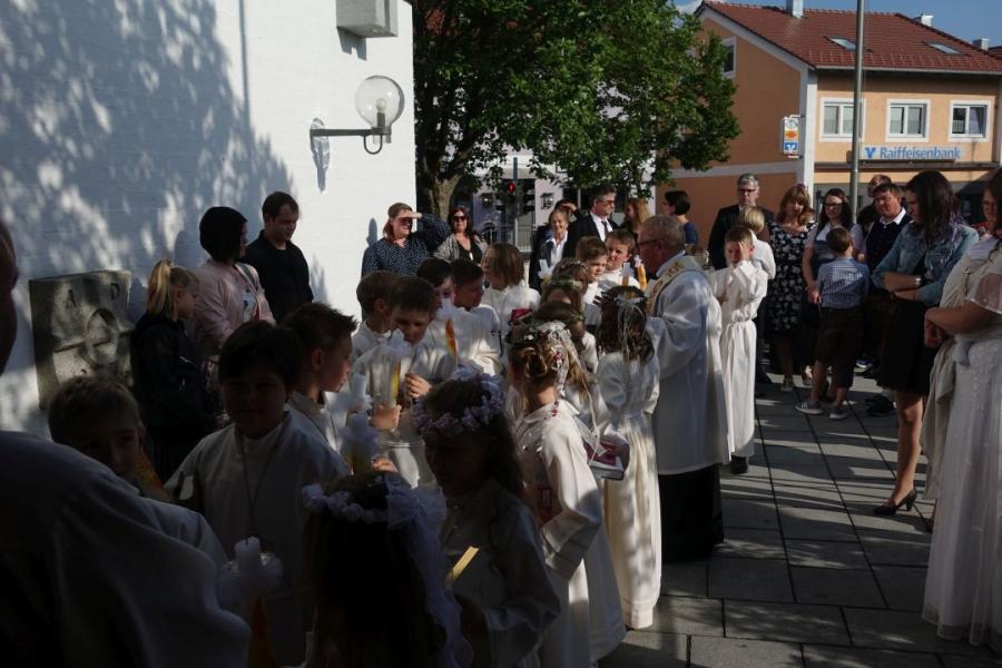 Kommunion Miltach Blaibach 2019 15