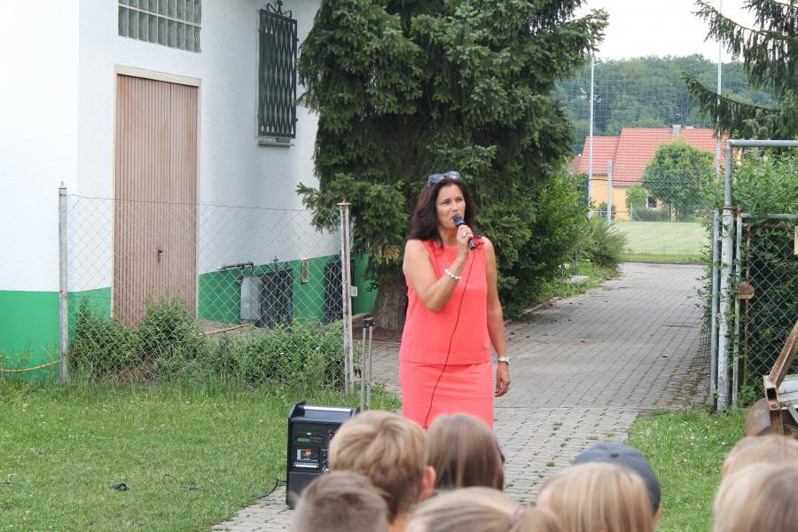 Schulfest 2014 Begrüßung