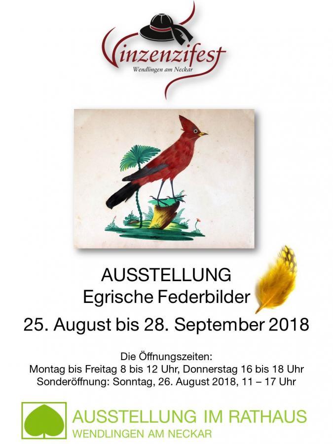 Plakat Vinzenziausstellung 2018