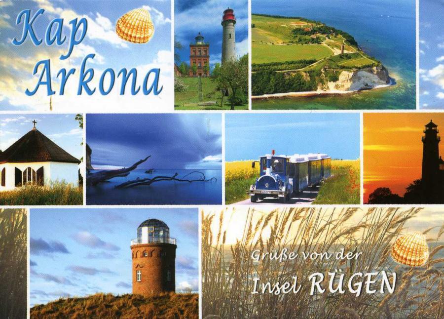 Kap Arkona Grüße von der Insel Rügen