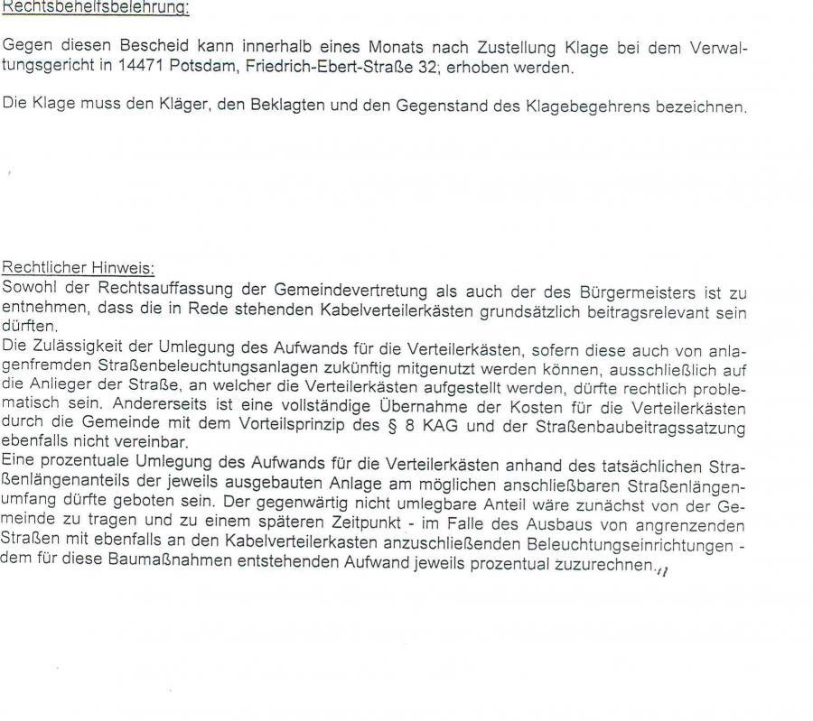 © Gemeinde Rangsdorf - Bescheid Landkreis Teltow-Fläming - Seite 3