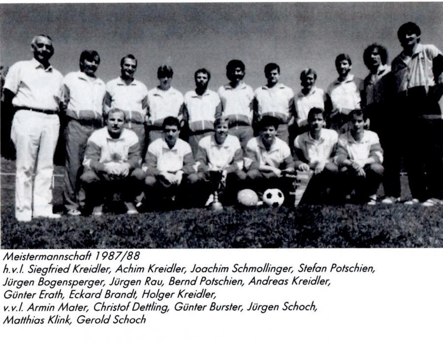 Mannschaft 1979