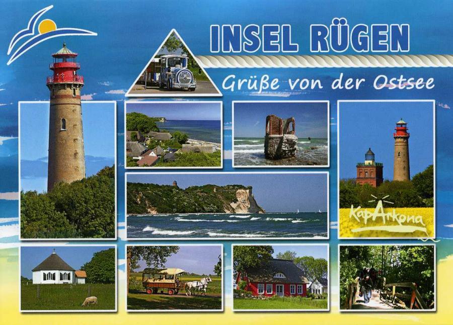 Insel Rügen Grüße von der Ostsee
