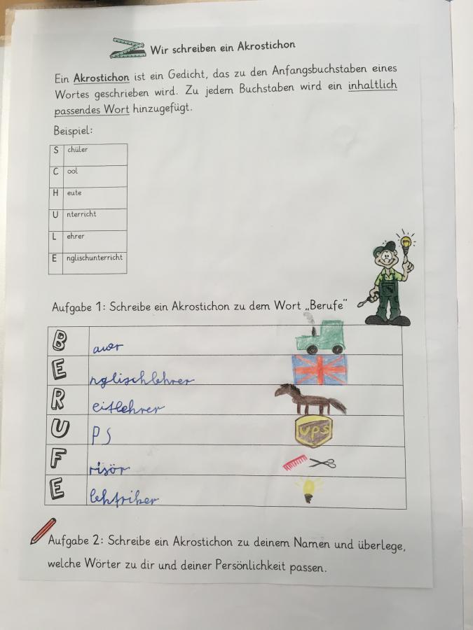 Johannes Bosco Schule Ibbenbüren Gedichte Sich Poetisch