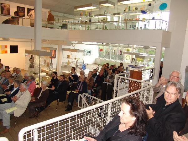 Foto: Eröffnung des 5. Immenhäuser Glaspreises