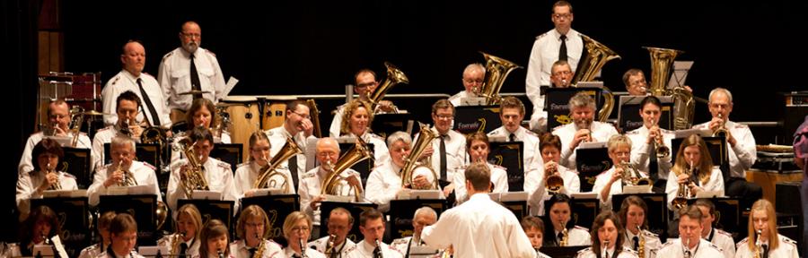 Das Feuerwehrorchester Husby