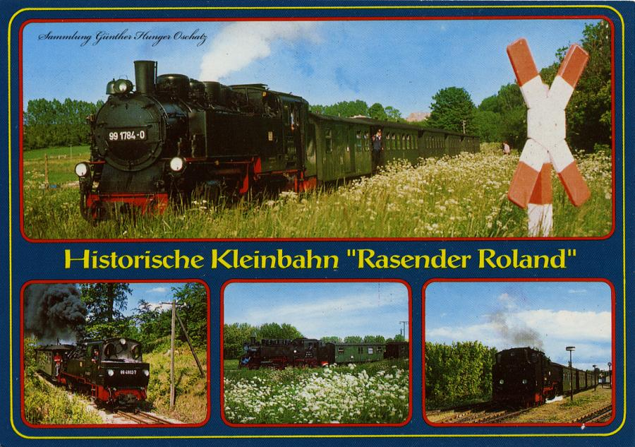 """Historische Kleinbahn """"Rasender Roland"""""""