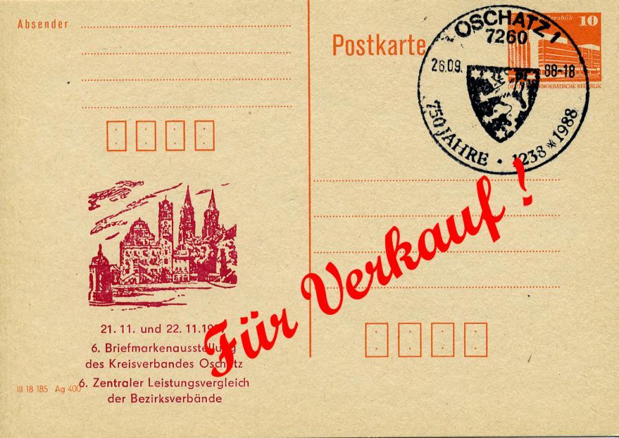 750 Jahr Oschatz Briefmarken