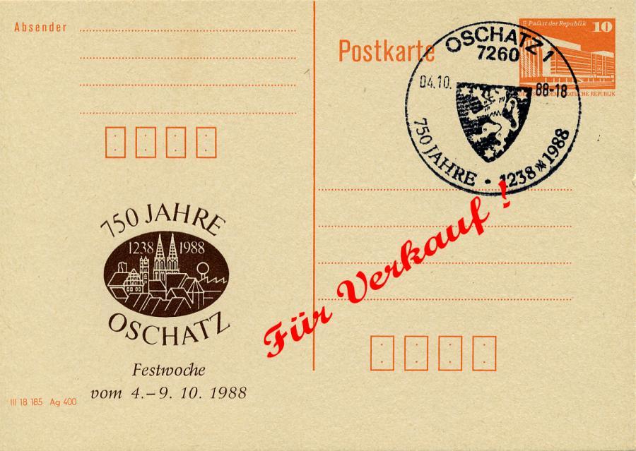 750 Jahre Oschatz 1988