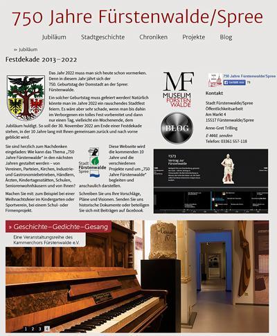 750 Jahre Fürstenwalde Spree