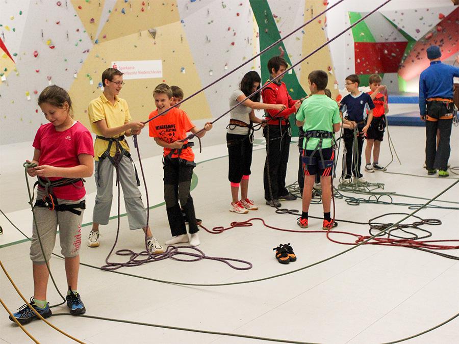 Kletterausrüstung Zittau : Oberlausitzer kreissportbund e.v. klettercamp