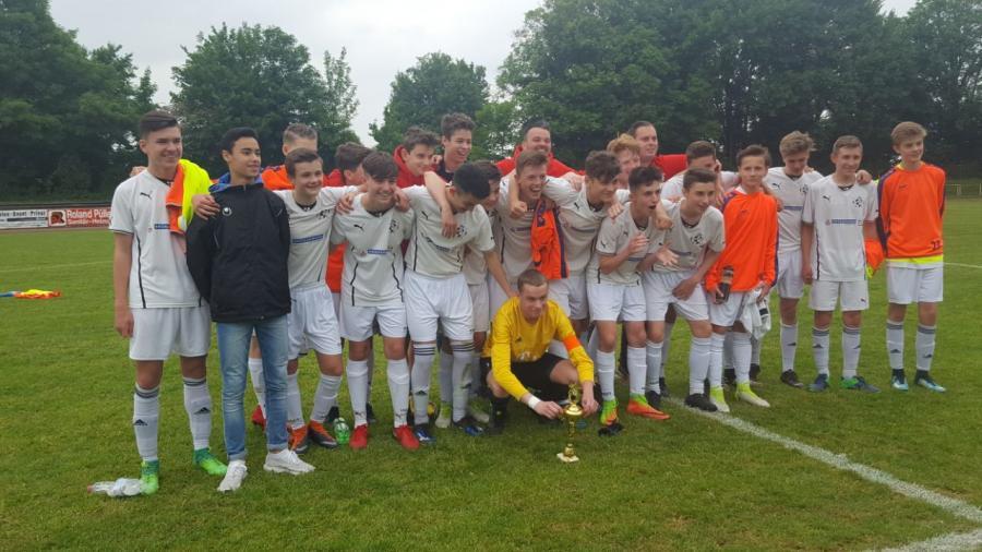 U15 Kreispokalsieger 2017/18