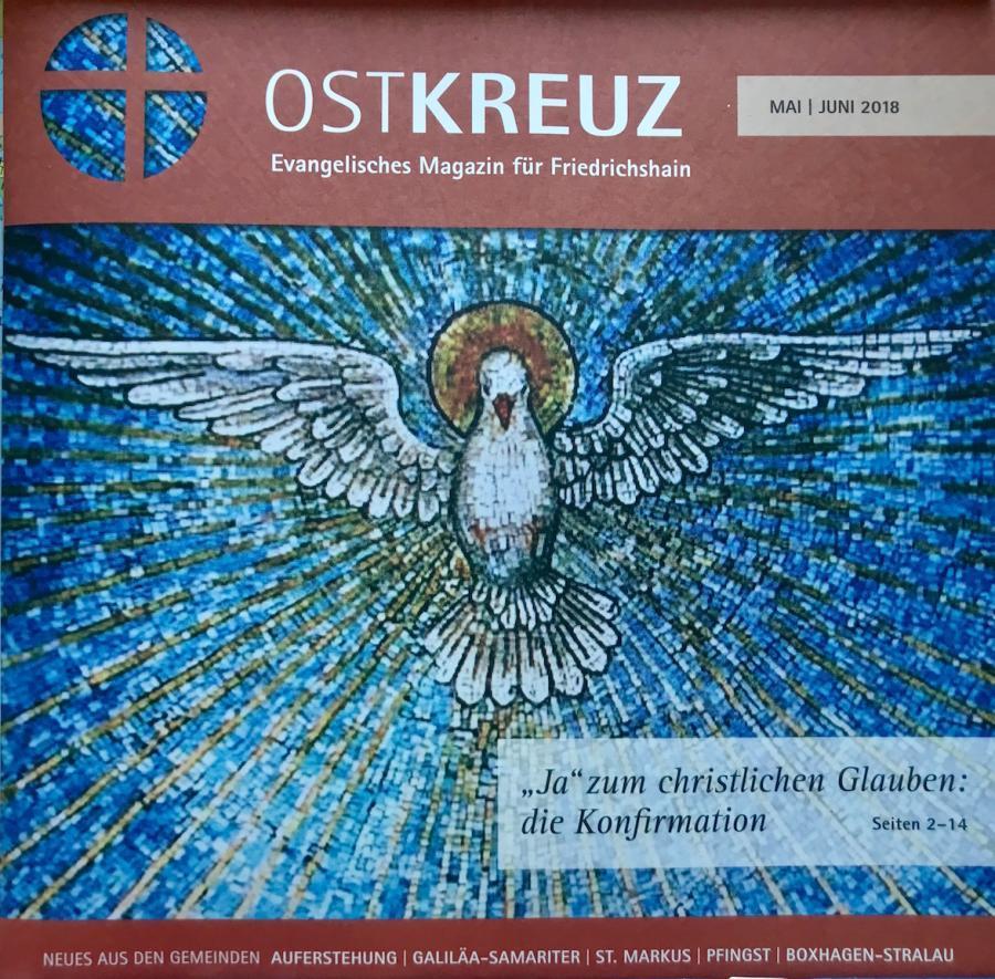 Titelseite OstKreuz Mai/Juni 2018