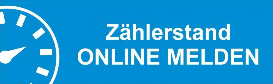 Zählerstand online melden ab 03.12.2019