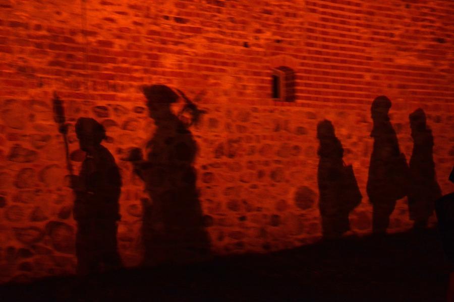 Unterwegs in Storkow mit den Gefährten der Nacht