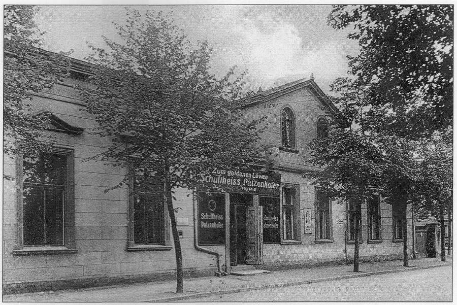 Kulturbühne Goldener Löwe_historisch_Foto: Gemeinde Wandlitz