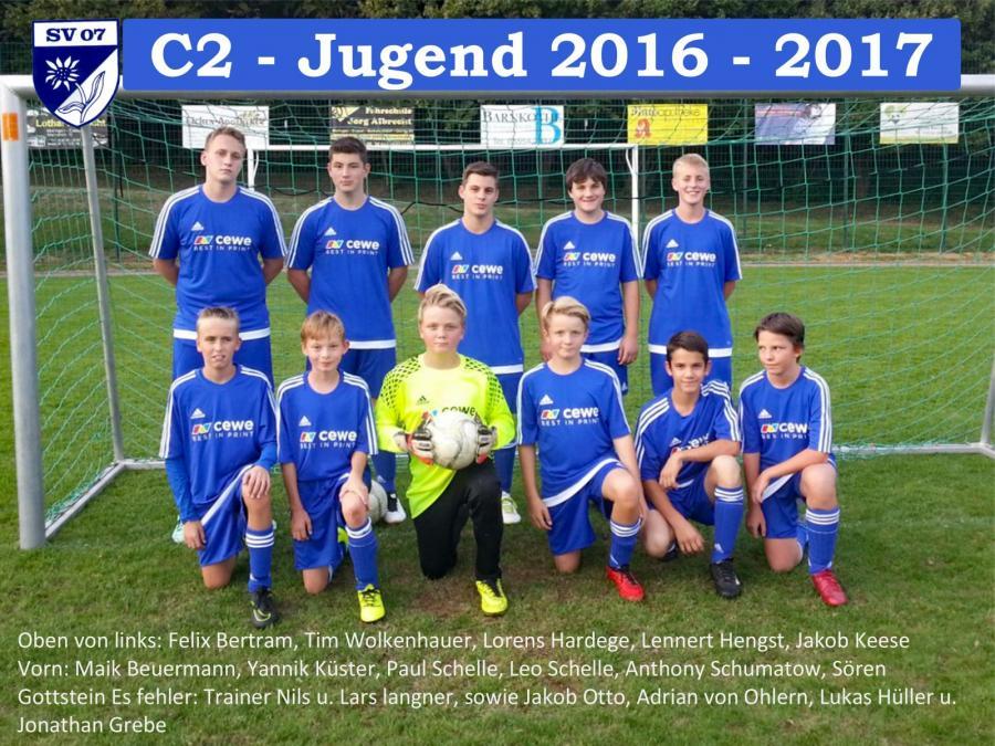 C2-Jugend 2016 - 2017