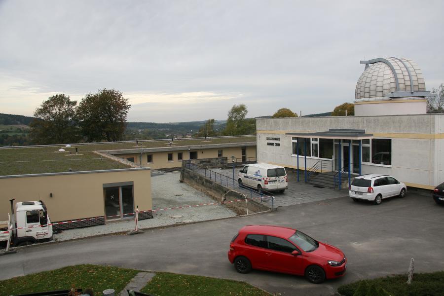 Sternwarte mit Neubau der Flohkiste