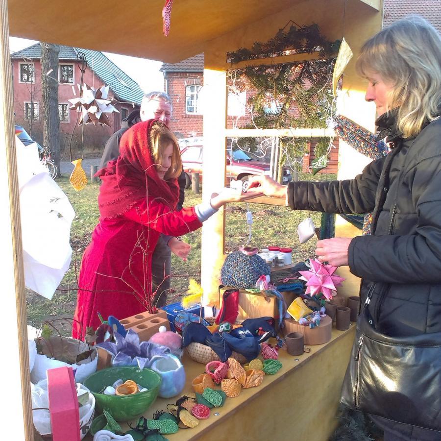 Mit dem WAT-Stand auf den Weihnachtsmärkten Börnicke, Lobetal und Ladeburg