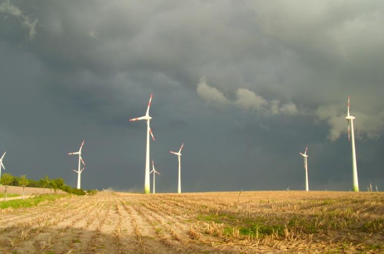 Windpark auf dem Börnickenberg