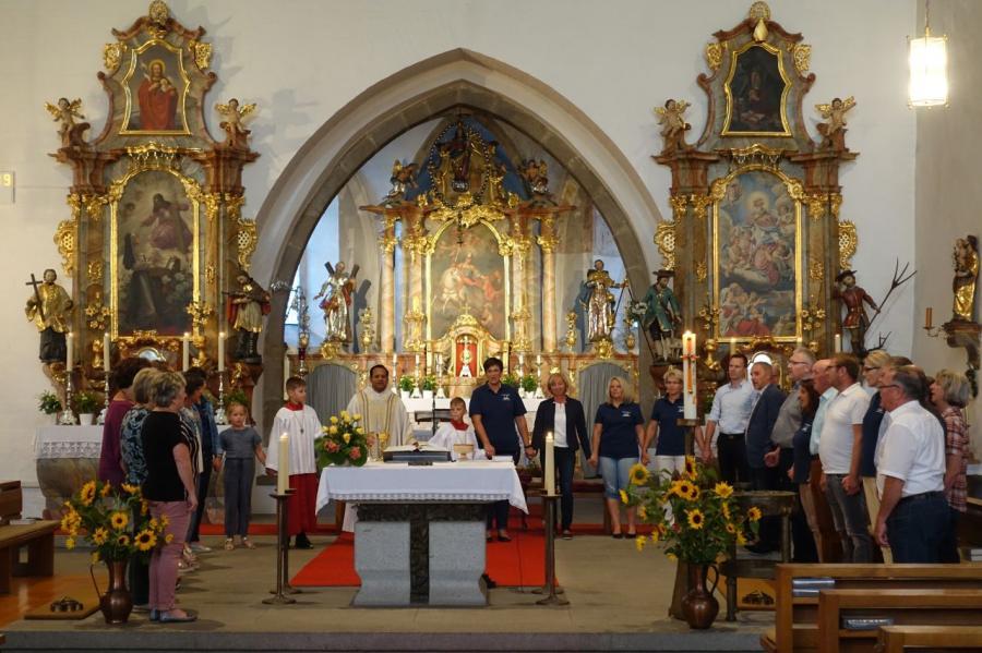 60. Geburtstag Pater Rockose Miltach 3
