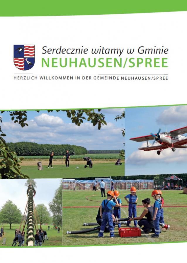 Polsko-niemiecka broszura informacyjna Gminy Neuhau-sen/Spree