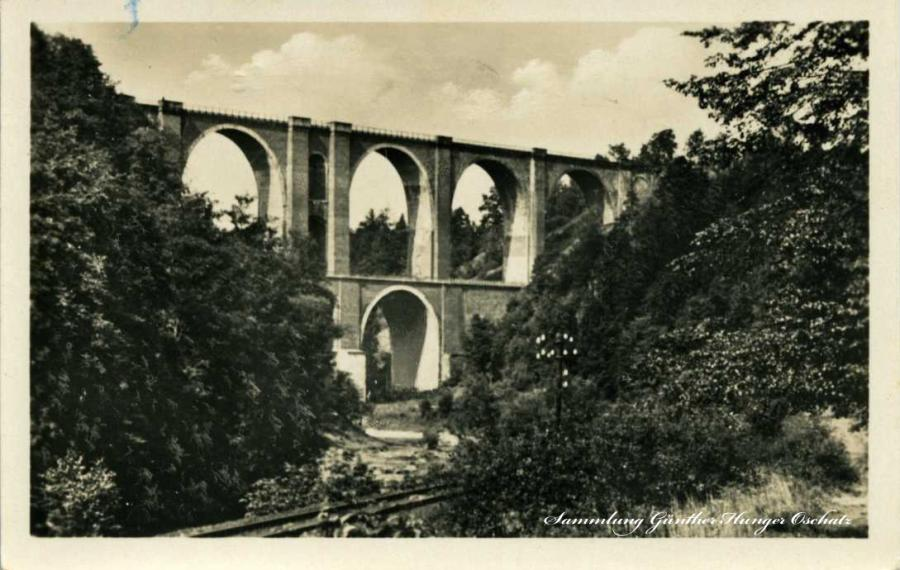 Elstertalbrücke bei Jocketa Vogtl.