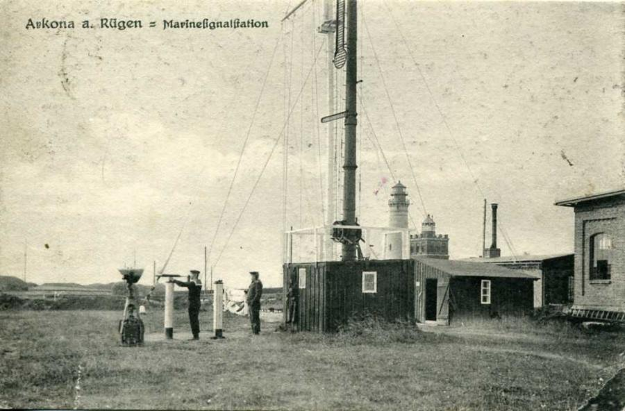 Arkona Marinesignalstation 1924
