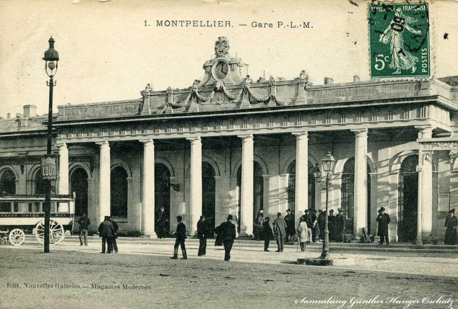 Montpellier - Gare P.-L.-M.