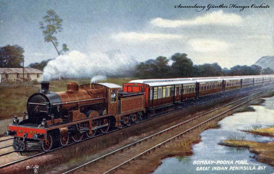 erste Intercity-Zug zwischen Mumbai und Pune.
