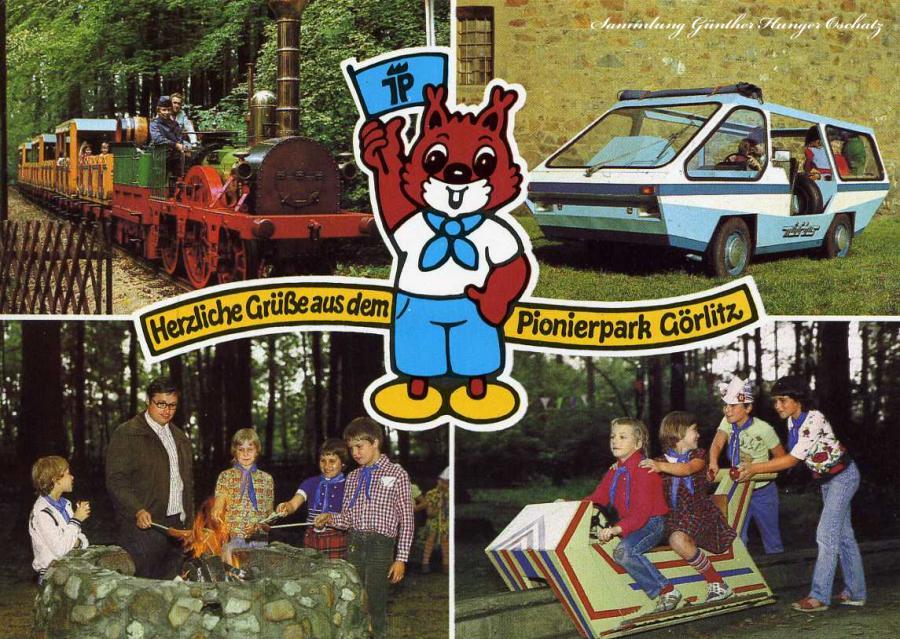 Herzliche Grüße aus dem  Pionierpark Görlitz