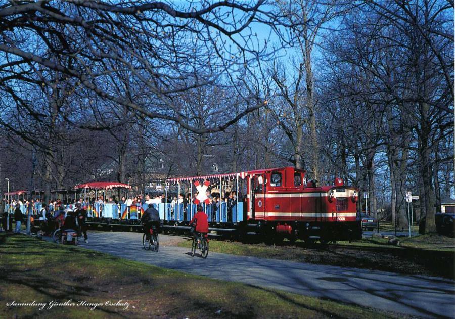 Lok 6006 der Parkeisenbahn