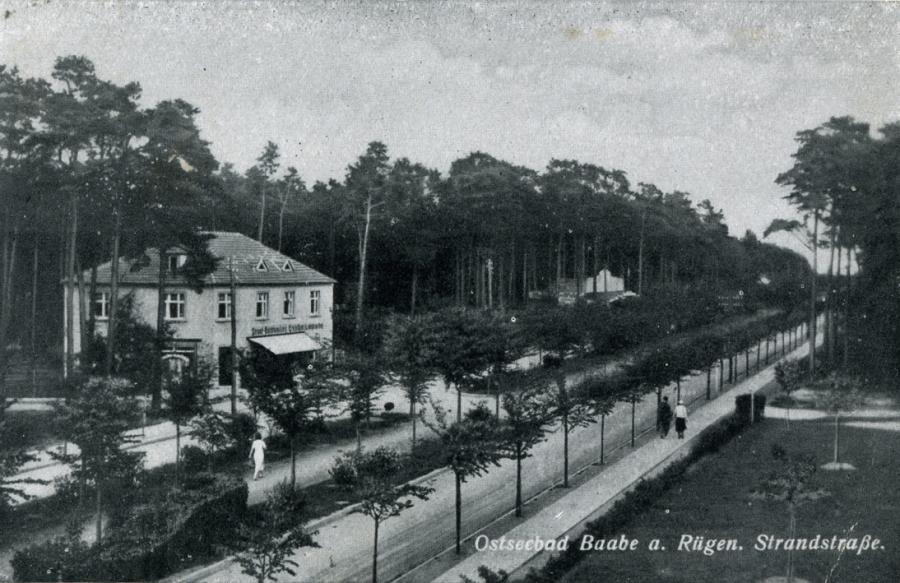 7 Ostseebad Baabe 1948