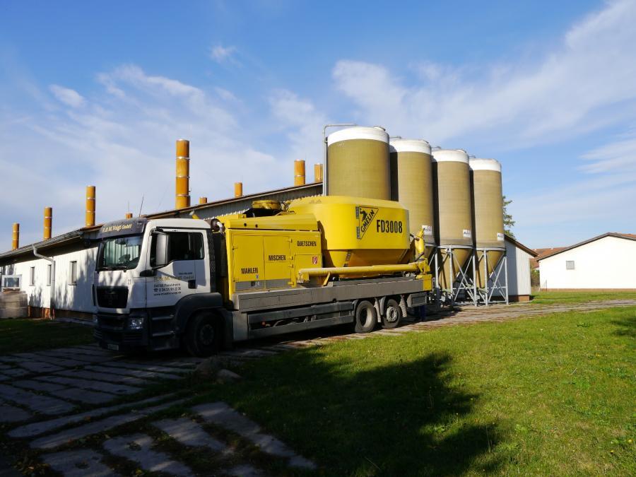 Fahrbare Mühle